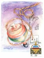 (G 13) EUROPA CEPT - Spain / Espagne / Espana  FDC / Premier Jour Maxicard - 1989 - Children Toys - 1989