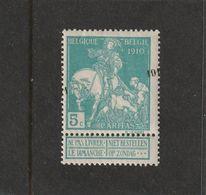 OBP / COB 97 Cu CARITAS 1911 ☼☼ ZEER ZELDZAAM - TRES RARE - Errors And Oddities