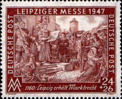 Allemagne Interzone Poste N** Yv:28C Mi:941C Leipziger Messe Leipzig Erhält Marktrecht - American,British And Russian Zone