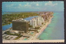 Postcard - USA - Circa 1960 - Beach And Oceanfronts Hotels - Non Circulee - A1RR2 - Miami Beach