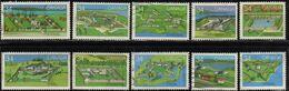 Canada - #1050-59 - Used - 1952-.... Reign Of Elizabeth II
