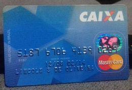 LSJP BRAZIL CAIXA BANK CARD 12/08 - Altre Collezioni