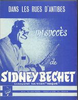 """Dans Les Rues D'Antibes"" - Sidney Béchet - Marche - Música & Instrumentos"