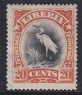 Liberia 1906 Sc 106 Mint Hinged - Liberia