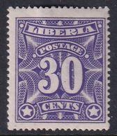 Liberia 1906 Sc 108 Mint Hinged - Liberia