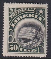 Liberia 1906 Sc 109 Mint Hinged - Liberia