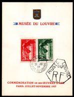 Feuillet Du Louvre 1937 - Neuf ** - MNH - Cote Spink Maury: 220,00 € - Neufs