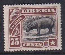 Liberia 1906 Sc 110 Mint Hinged - Liberia
