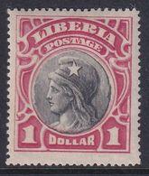 Liberia 1906 Sc 111 Mint Hinged - Liberia