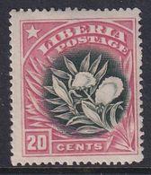 Liberia 1909 Sc 120 Mint Hinged - Liberia