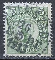 Suède - Schweden - Sweden 1910-19 Y&T N°62 - Michel N°68 (o) - 5ö Gustave V - Oblitérés