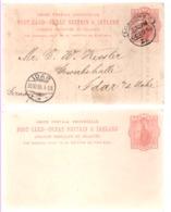 Großbritannien Ganzsache CP 28 Victoria Postfrisch Und Gestempelt; Postal Stationery Great Britain And Ireland - 1840-1901 (Victoria)