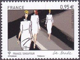 France N° 4827 ** La Mode - France/Singapour - Le 0.95 Défilé - Nuovi