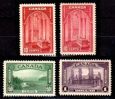 B310-Canada 1938 (++) MNH - Senza Difetti Occulti - - 1937-1952 Règne De George VI