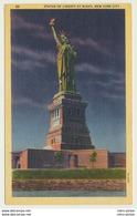AK  New York City Statue Of Liberty At Night - Freiheitsstatue