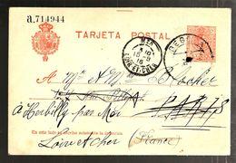 35419 -  Entier  Pour La France - 1850-1931