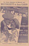 (MISTINGUETT )et JEAN GABIN , La Java  De Doudoune , Paroles DIDIER GOLD , Musique JOSE PADILLA - Vieux Papiers