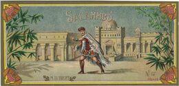 ETIQUETTE SAVON SALAMMBO MAUBERT PARFUMS PUBLICITE N°57 ILLUSTRATEUR PALAIS ORIENT CHROMOGRAPHIE - Perfume & Beauty
