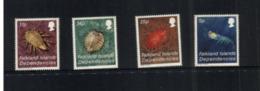 (stamps 7/8/2020) - Falkands Islands (sea Creature) (4 Mint Stamps) - Falklandinseln