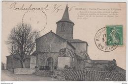 BIENAC L'EGLISE 1918 TBE - Andere Gemeenten