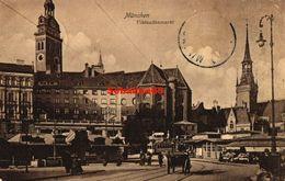 Munchen - Viktualienmarkt - 1909 - Muenchen