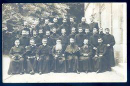 Cpa Carte Photo Groupe De Religieux Nommés Au Dos -- Consécration à L' Apostolat En 1924    AVR20-183 - Otros