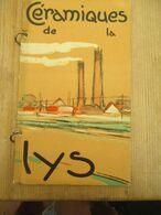 Céramiques De La Lys Marke Kortrijk 1930 - Books, Magazines, Comics