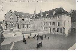89 - TONNERRE - Le Collège De Jeunes Filles - Bâtiment Principal  (Petite Animation) - Tonnerre