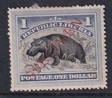 Liberia 1892 Sc 47s Mint Hinged Specimen Handstamp - Liberia