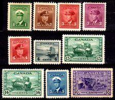 B313-Canada 1943-48 (+) Hinged - Senza Difetti Occulti - - 1937-1952 Règne De George VI