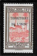 ININI TAXE N°4 ** TB SANS DEFAUTS - Inini (1932-1947)