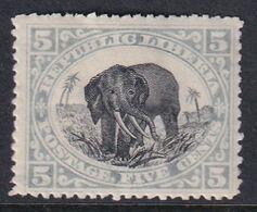 Liberia 1897 Sc 61 Mint Hinged - Liberia