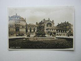 SCHWERIN Bahnhof  , Schöne Karte  Um 1932 - Schwerin