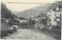 ARNEGUY : VILLAGE FRONTIERE - Arnéguy