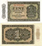 GERMANY, DEM. REP. (DDR)       1 Deutsche Mark       P-9b       1948       UNC - [ 6] 1949-1990 : RDA - Rep. Dem. Tedesca