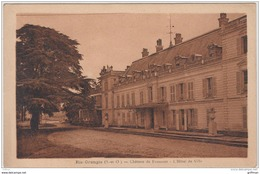RIS ORANGIS CHATEAU DE FROMONT L'HOTEL DE VILLE TBE - Ris Orangis