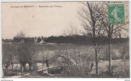 ENVIRONS DE BRUNOY PASSERELLES SUR L'YERRES TBE - Brunoy