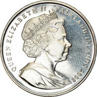 Monnaie, Falkland Islands, Crown, 2008, 90ème Anniversaire De La Royal Air - Falkland