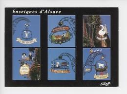 Enseignes D'Alsace Table Alsacienne, Boulangerie, Caveau Saint Pierre Restaurant, Foie Gras Agneau (fer Forgé) - Sin Clasificación