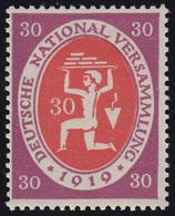 110c Nationalversammlung 30 Pf ** Postfrisch - Allemagne