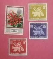 TRINIDAD & TOBAGO LOT OF NEWS MNH** AND USED STAMPS - Trinidad & Tobago (1962-...)