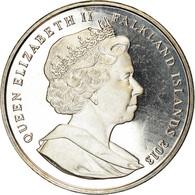 Monnaie, Falkland Islands, Crown, 2013, 60ème Anniversaire Du Couronnement - Falkland