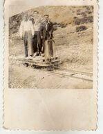 Small Photo ( Size 8.5cm / 6cm ) Macedonia,trains,rail,railroad,railway,Kingdom Of Yugoslavia.RARE - Trenes