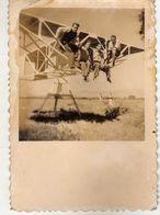 "Small Photo ,,Optika"" - Skopje ( Size 8.5cm / 6cm ) Macedonia,Kingdom Of Yugoslavia.model Plane - Aviation"