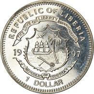 Monnaie, Liberia, Dollar, 1997, Bataille D'Angleterre, SPL, Copper-nickel - Liberia
