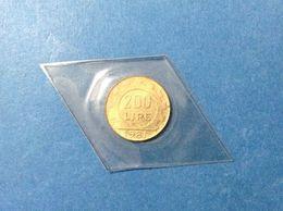 1981 ITALIA REPUBBLICA ITALY COIN MONETA 200 LIRE LAVORO FDC UNC DA CONFEZIONE ZECCA - 200 Lire