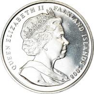 Monnaie, Falkland Islands, Elizabeth II, Crown, 2008, Pobjoy Mint, Port Louis - Falkland