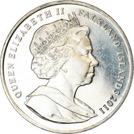 Monnaie, Falkland Islands, Elizabeth II, Crown, 2011, Pobjoy Mint, SAR70, SPL - Falkland