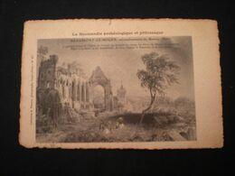 BEAUMONT-LE-ROGER 1908  - RUINES DE L'EGLISE DU PRIEURE - Beaumont-le-Roger