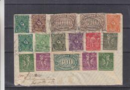 Allemagne - Empire - Lettre De 1923 - Oblit München - Exp Vers Genève - - Allemagne